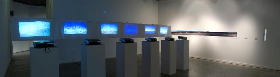 Bearing East (2012). Installation.