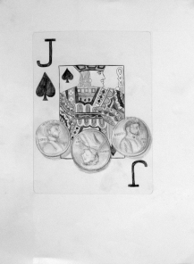 Playing Cards & Pennies: Surface Detail (Charles)