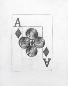 Playing Cards & Pennies: Surface Detail (Eric)