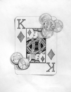 Playing Cards & Pennies: Surface Detail (Taylor)