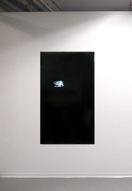 "Street View (stop light), (2016). Digital archival prints, 44"" x 26"""